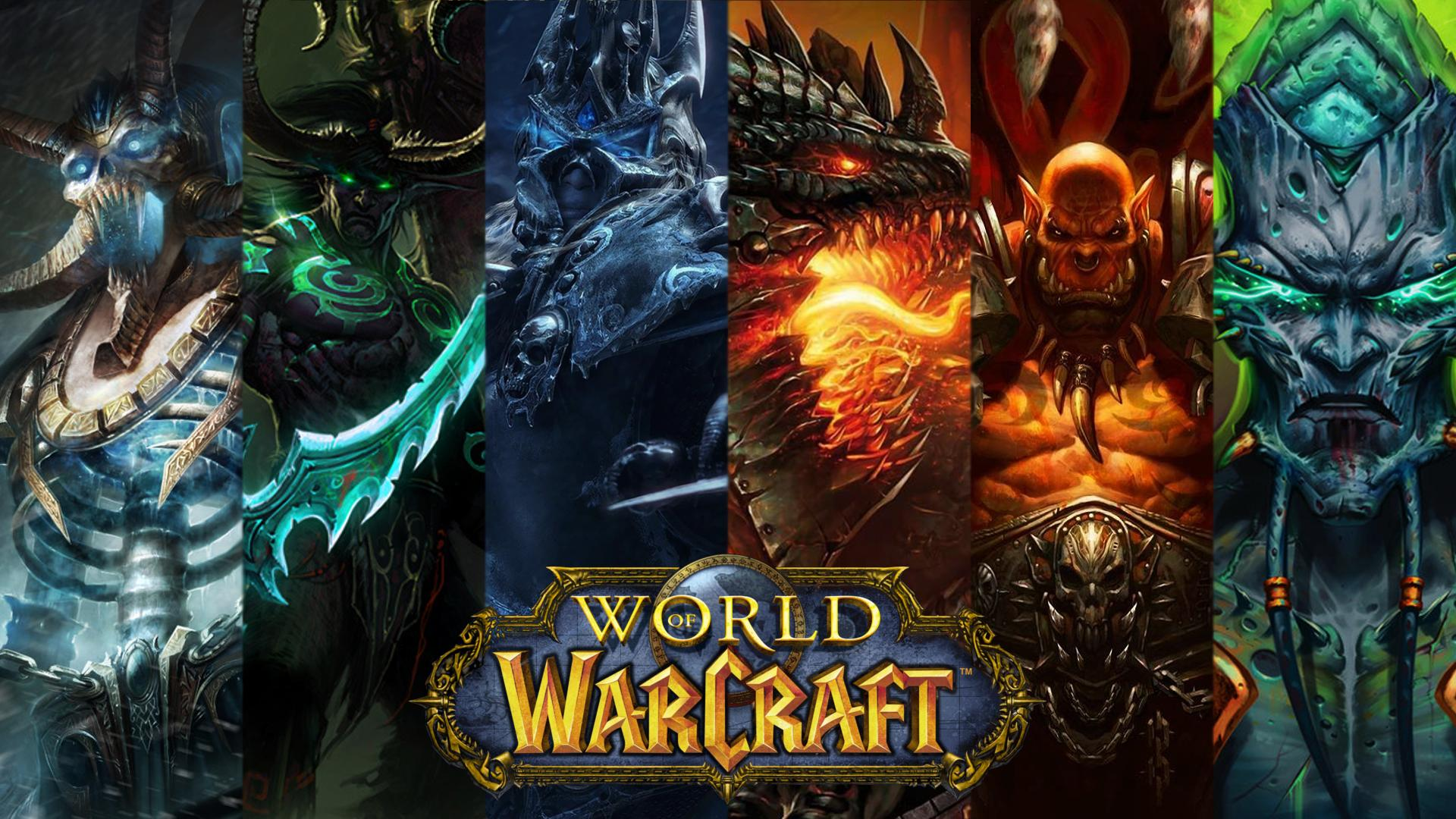 World of Warcraft New Tab